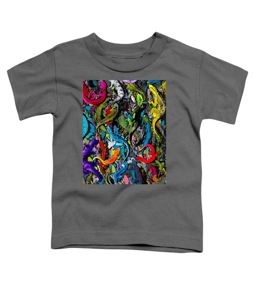 Jewels Of The Demon City Swarm Toddler T-Shirt