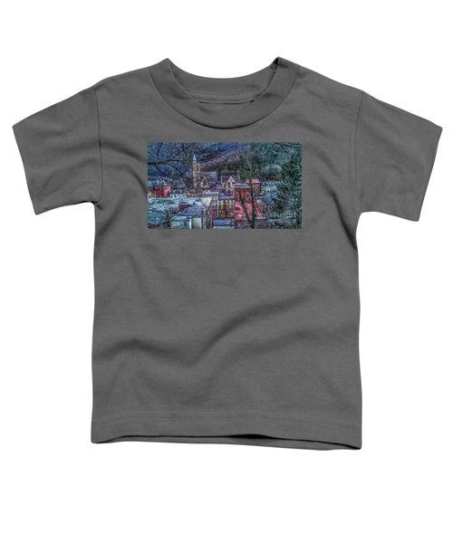 Jim Thorpe Pennsylvania In Winter #1 Toddler T-Shirt
