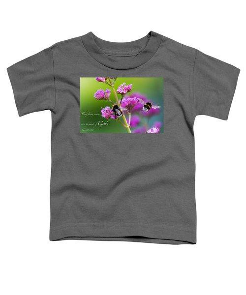 Job 12 10 Toddler T-Shirt