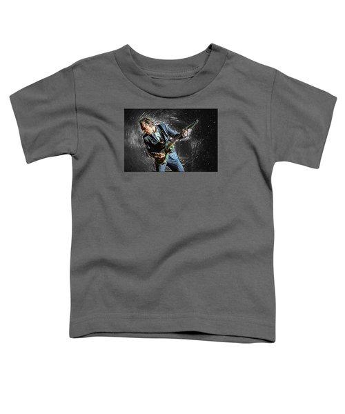 Joe Bonamassa Toddler T-Shirt by Taylan Apukovska