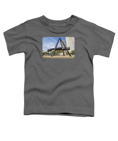 Joe Louis Fist In Detroit In Color  Toddler T-Shirt