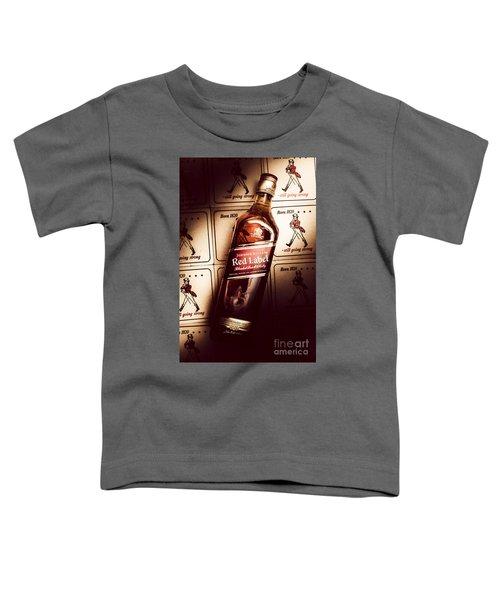 Johnnie Walker Red Label Blended Whisky  Toddler T-Shirt