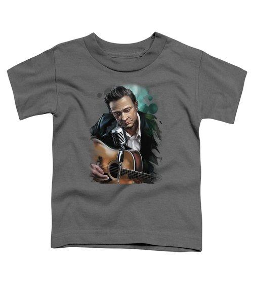 Johnny Cash Toddler T-Shirt