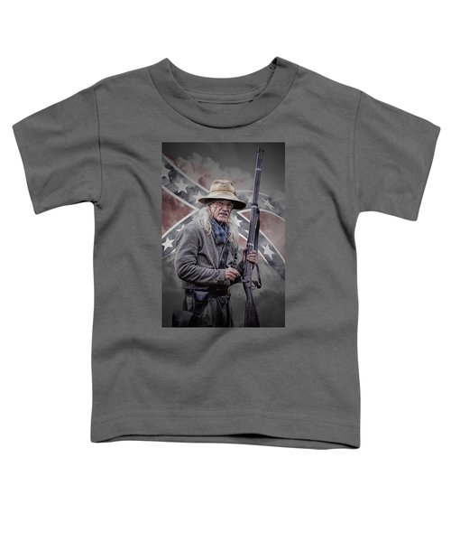 Johnny Reb Toddler T-Shirt