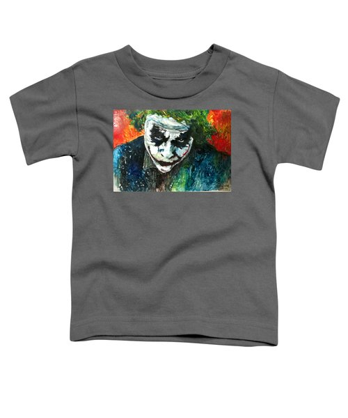 Joker - Heath Ledger Toddler T-Shirt