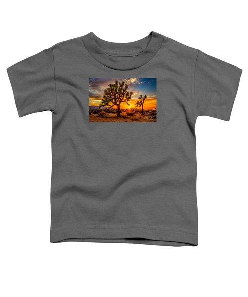 Joshua Tree Glow Toddler T-Shirt