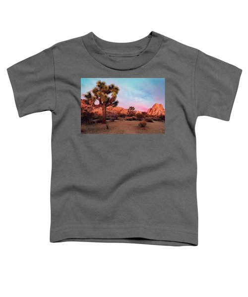 Joshua Tree With Dawn's Early Light Toddler T-Shirt