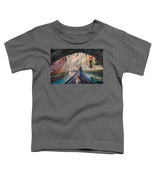 Journey Through Dreams - A Ride On The Canals Of Venice, Italy Toddler T-Shirt