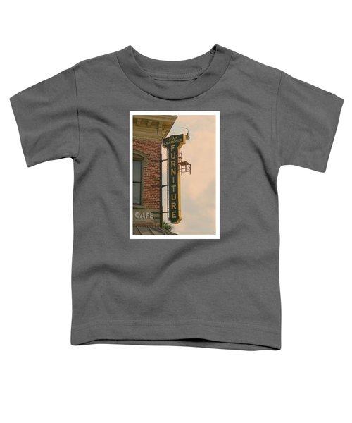 Juan's Furniture Store Toddler T-Shirt by Robert Youmans