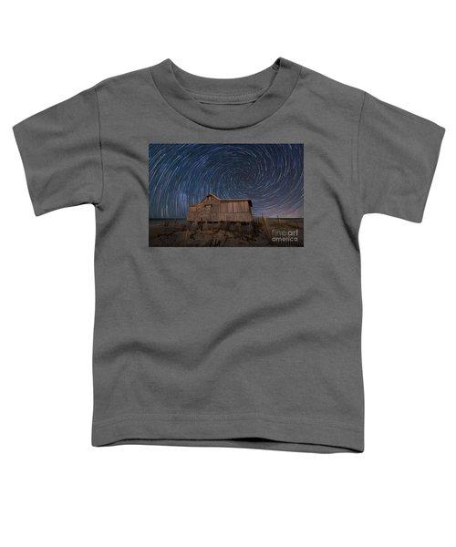 Judges Shack Vortex Star Trails Toddler T-Shirt