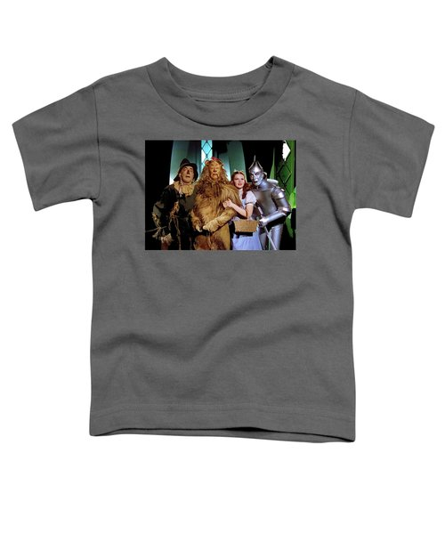 Judy Garland And Pals The Wizard Of Oz 1939-2016 Toddler T-Shirt