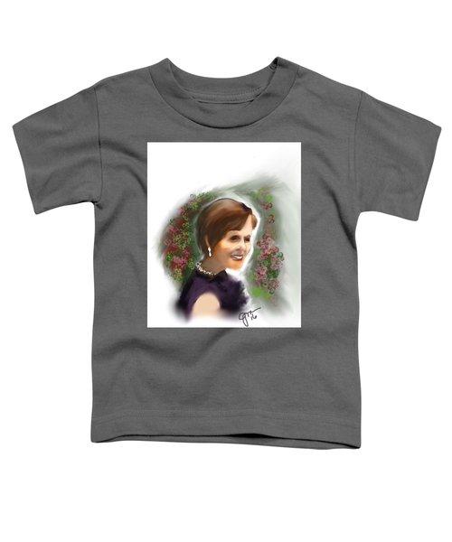 Toddler T-Shirt featuring the digital art Julia by Gerry Morgan