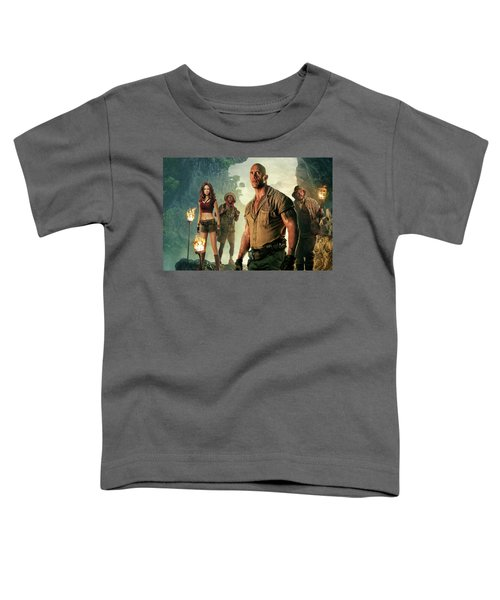 Jumanji Welcome To The Jungle Toddler T-Shirt