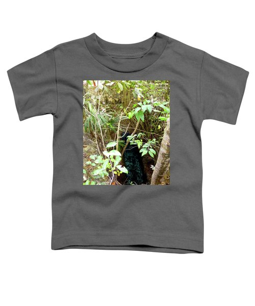 Toddler T-Shirt featuring the photograph Jungle Stream by Francesca Mackenney