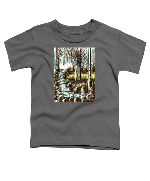 Just Around The Riverbend  Toddler T-Shirt