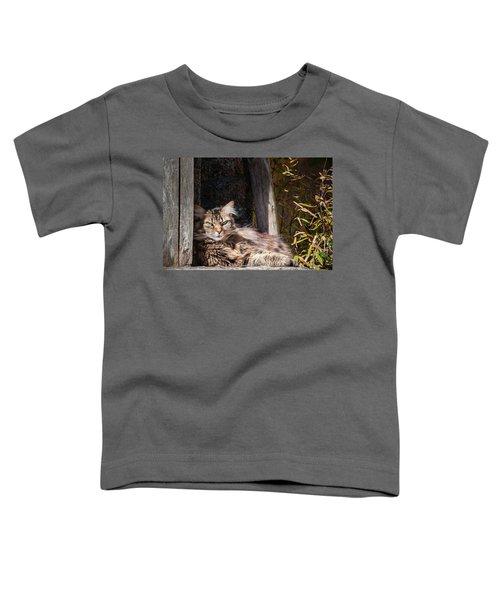 Just Lazing Around Toddler T-Shirt