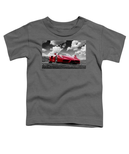 Just Red 1 2002 Enzo Ferrari Toddler T-Shirt
