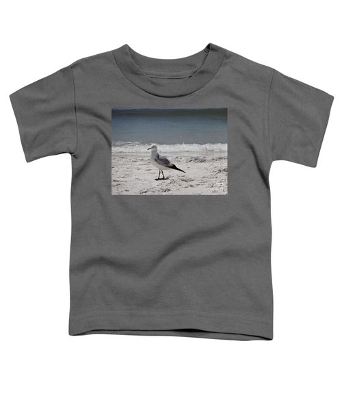 Just Strolling Along Toddler T-Shirt by Megan Cohen
