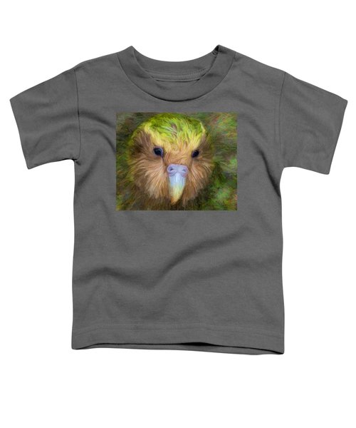 Kakapo Toddler T-Shirt