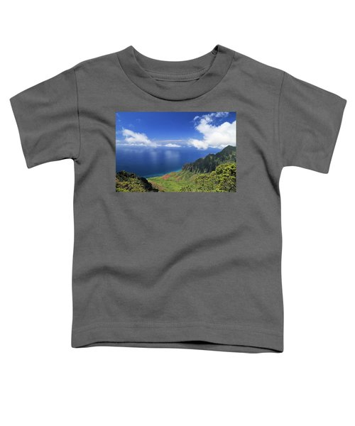 Kalalau Valley Toddler T-Shirt