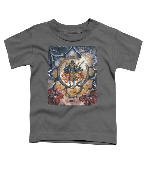 Kali And Ouroboros  Toddler T-Shirt