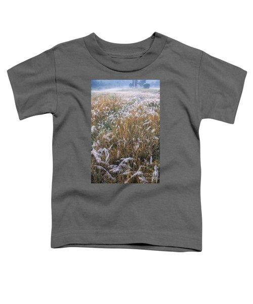 Kans Grass In Mist Toddler T-Shirt