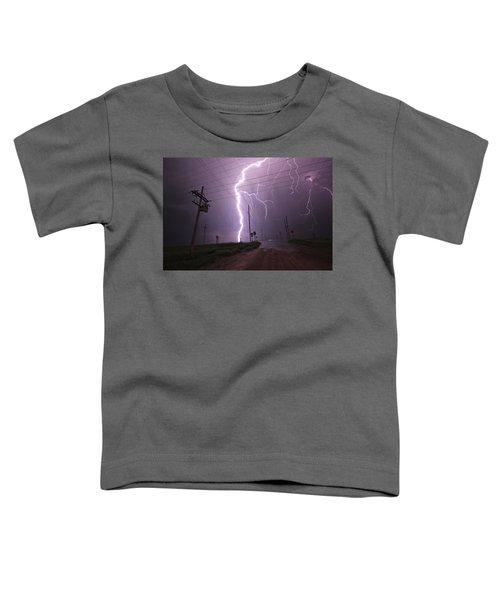 Kansas Lightning Toddler T-Shirt