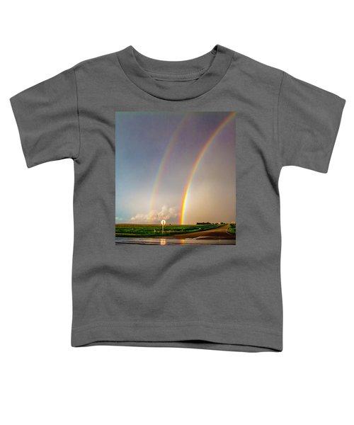 Kansas Storm Chase Bust Day 007 Toddler T-Shirt