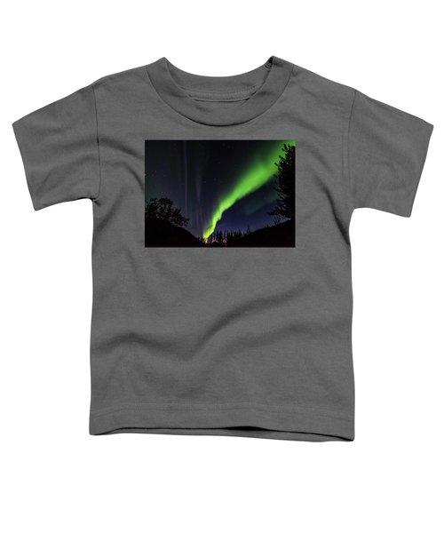 Kantishna Northern Lights In Denali National Park Toddler T-Shirt