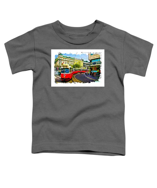 Kartner Strasse - Vienna Toddler T-Shirt
