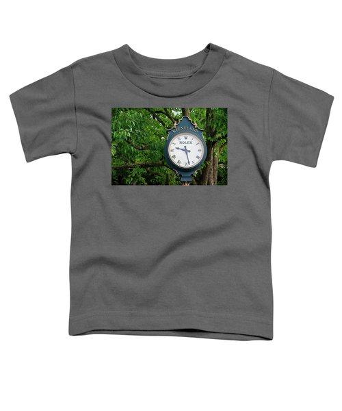 Keeneland Clock Toddler T-Shirt
