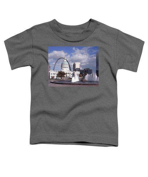 Kiener Plaza - St Louis Toddler T-Shirt