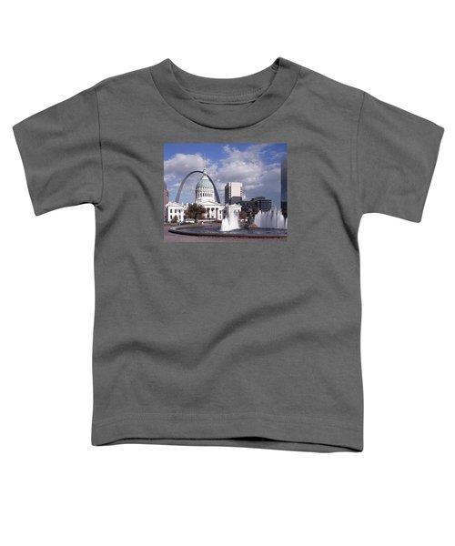 Kiener Plaza - St Louis Toddler T-Shirt