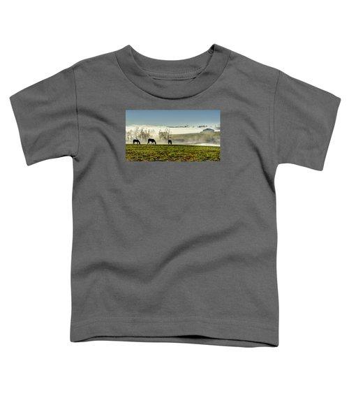 Kentucky Bluegrass Morning #1 Toddler T-Shirt