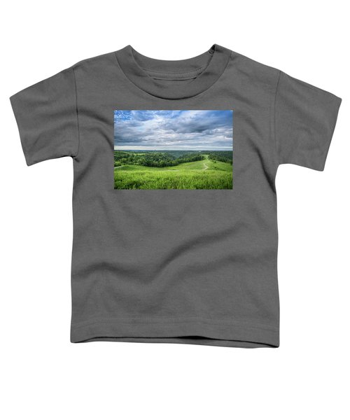 Kentucky Hills And Clouds Toddler T-Shirt