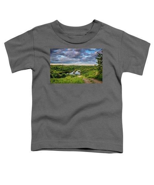 Kentucky Hills And Lake Toddler T-Shirt