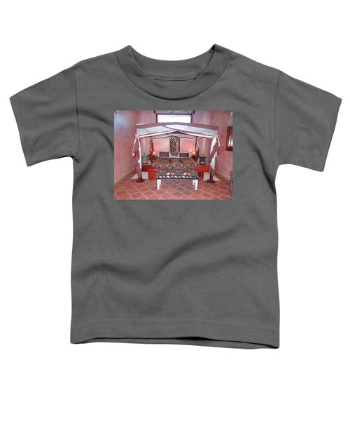 Kenyan African Traditional Double Bed Toddler T-Shirt