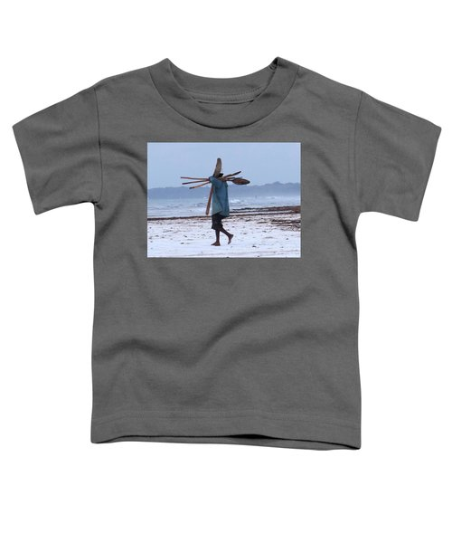 Kenyan Fisherman And Oars Toddler T-Shirt