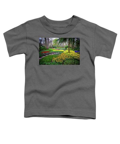 Keukehof Botanic Garden 2015 Toddler T-Shirt