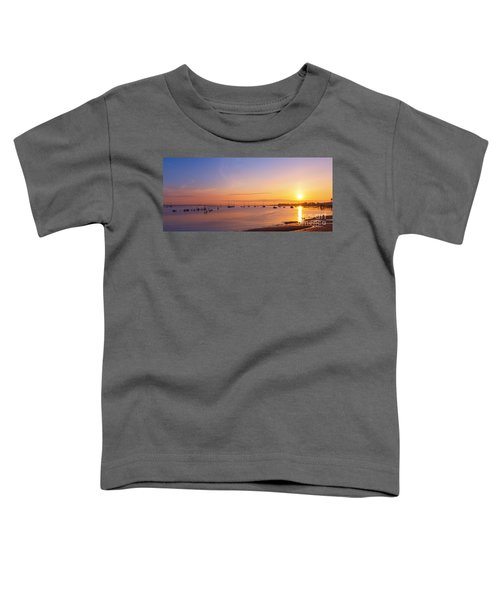 Keyport Harbor Sunrise  Toddler T-Shirt