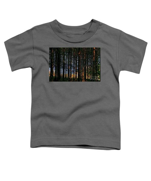 Kielder Forest And Kielder Water Toddler T-Shirt