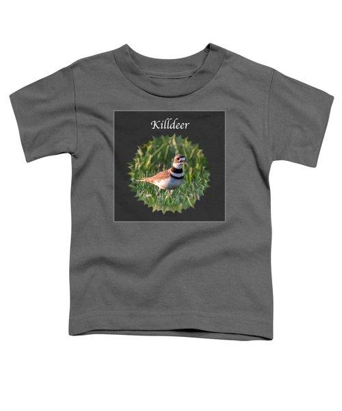 Killdeer Toddler T-Shirt by Jan M Holden