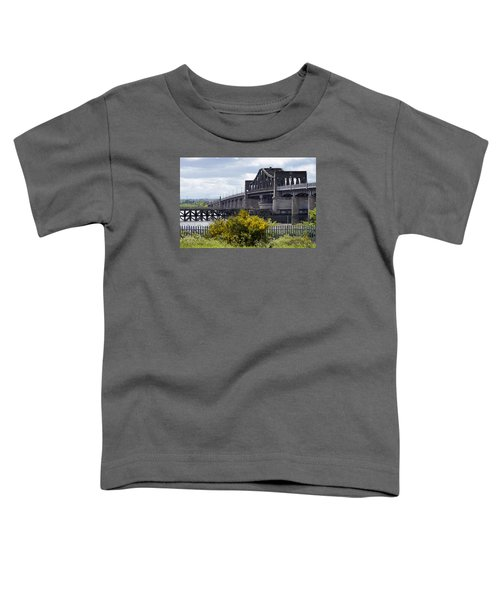 Toddler T-Shirt featuring the photograph Kincardine Bridge by Jeremy Lavender Photography