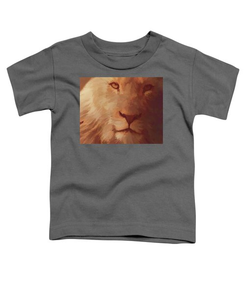 King Of The Jungle Toddler T-Shirt