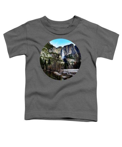 King Of Waterfalls Toddler T-Shirt by Adam Morsa