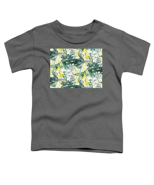 Kingfisher Toddler T-Shirt by Jacqueline Colley