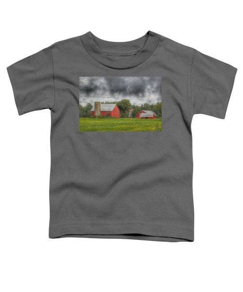 0022 - Kingston Road Red Trio I Toddler T-Shirt