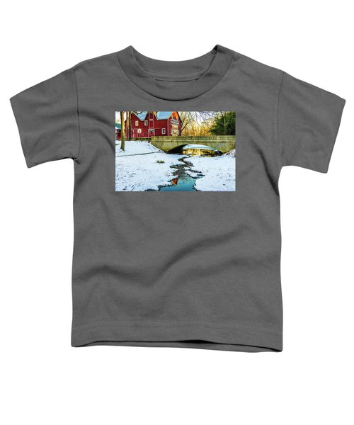 Kirby's Mill Landscape - Creek Toddler T-Shirt