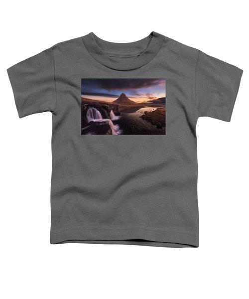Kirkjufell Sunrise Toddler T-Shirt