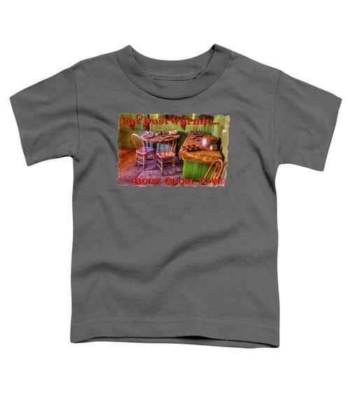 Kitchen Table Bodie California Toddler T-Shirt